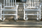 Two Inviting Rocking Chairs