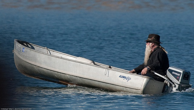 Old man boating - brain plasticity