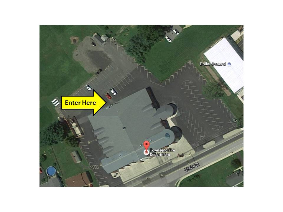 Townsend Fire Company arial view