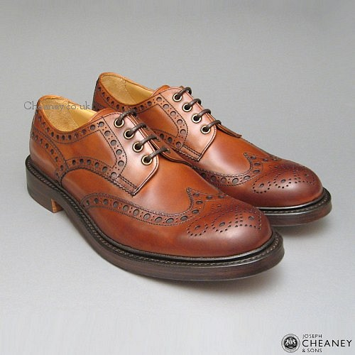 Cheaney Avon country brogues