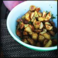 Roasted Baby Potatoes With Lemon and Chive