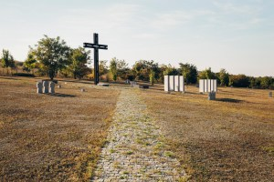 German WWII cemetery in Chisinau. Thousands of German soldiers who died during the advance of the Soviet army are buried here, in the outskirts of the city.