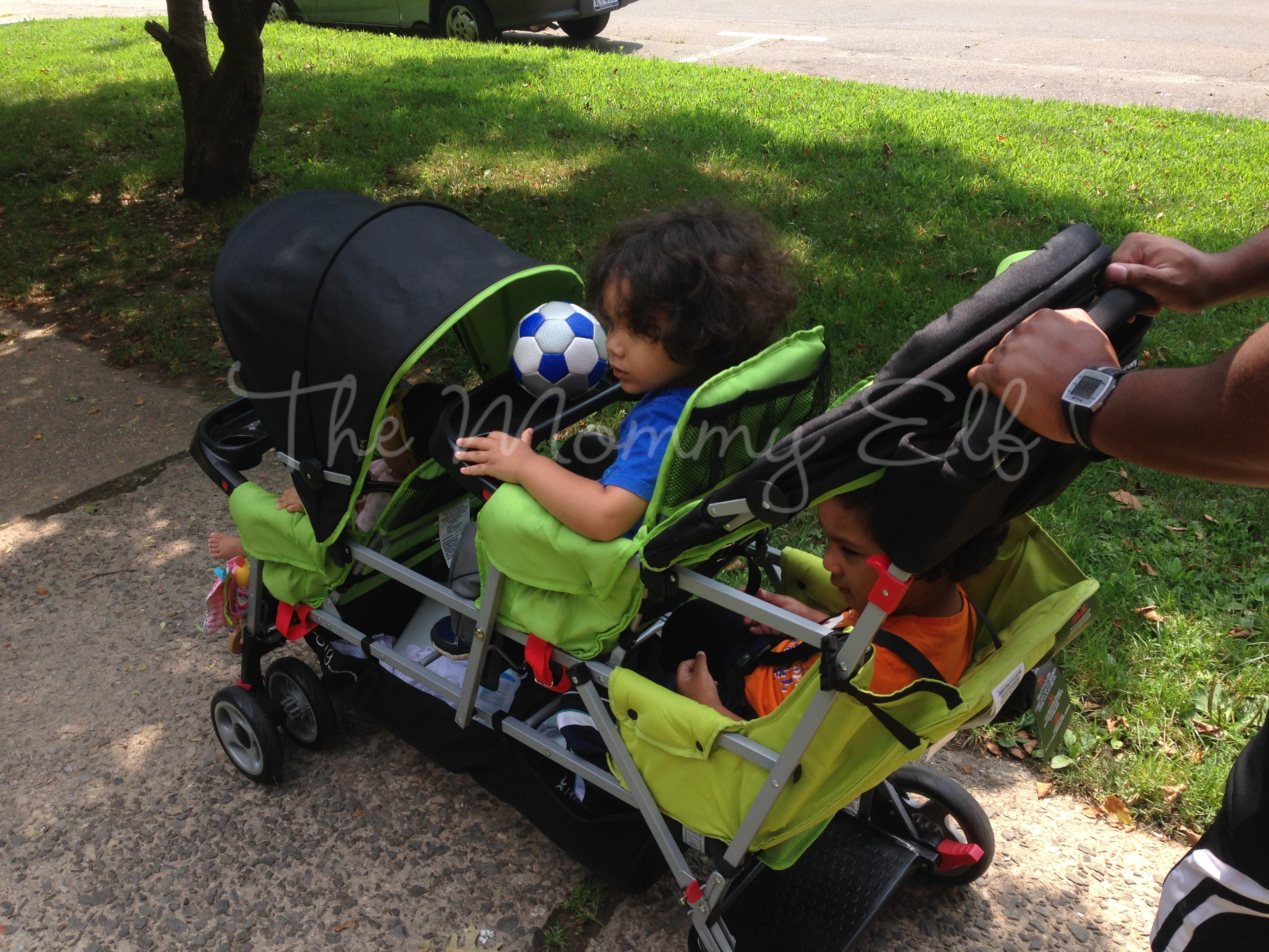 Joovy Big Caboose Stroller Review - The Mommy Elf, LLC