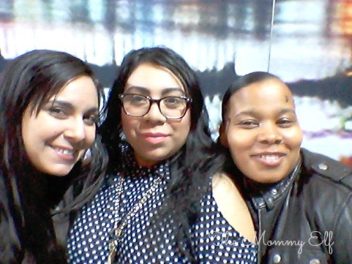 With Karen from Chica in the City and Nichol from Five Little Words