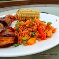 Easy Cajun Rice | Easy to make, this Cajun Rice is the perfect accompaniment to any of your Cajun dishes. | TheMountainKitchen.com