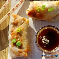 These baked vegetable egg rolls are baked, not fried and loaded with fresh vegetables, seasoned with ginger, garlic and soy sauce, with a tasty honey sesame dipping sauce.   TheMountainKitchen.com
