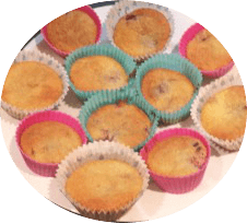 Summer Fruit Cupcakes
