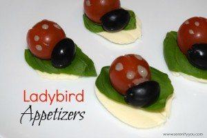 Natasha's Ladybird Appetizers - My Fab Foodie Favourite on YumTum linky week2