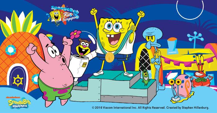 Spongebob run award