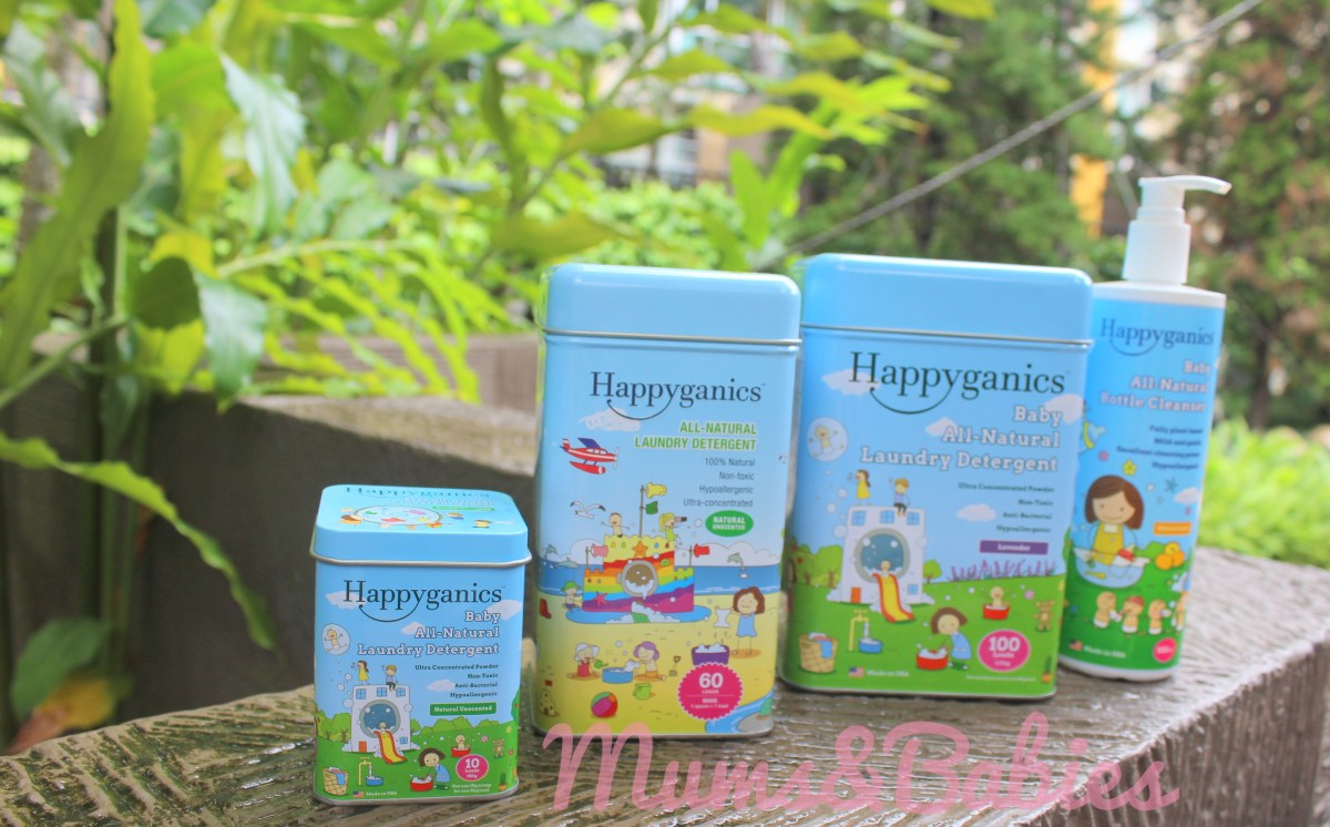 Happyganics All-Natural Laundry Detergent