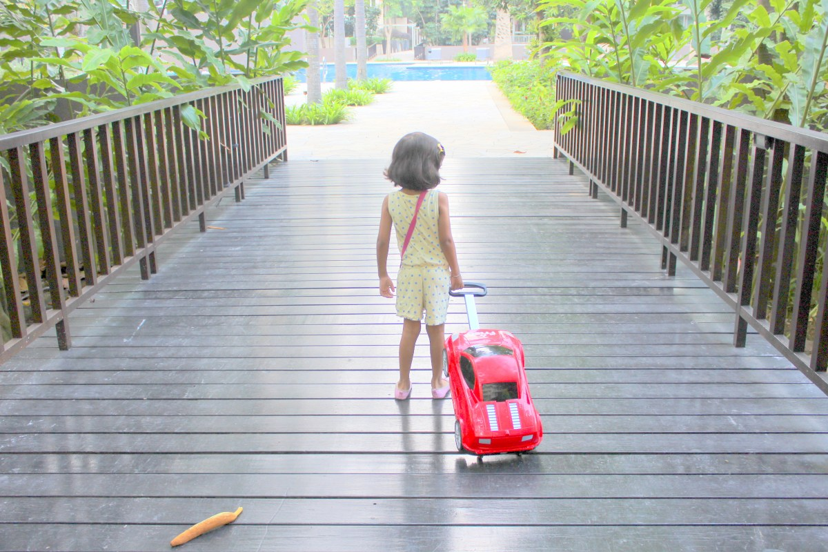 Learn and fun with Friso Powered Luggage!