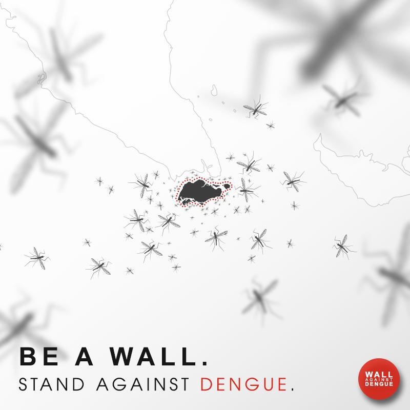 My dengue 'fight'plan- #BeAWallAgainstDengue!
