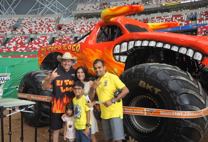 Monster Jam roaring fun in Singapore!