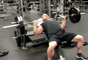 Chest Exercise - Incline Press Jason Stallworth