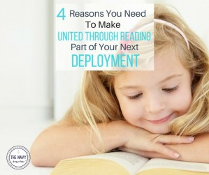 Four Reasons to Make United Through Reading Part of Your Life During Deployment