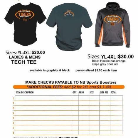 Football Shirt Sale Spring 2016 flyer feature