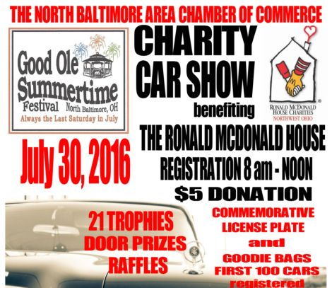 GOST Car Show flyer 2016 feature
