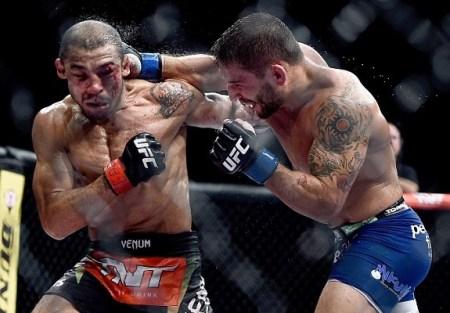 Mendes punch Edgar