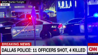 BREAKING NEWS!!! July 7, 2016 in Dallas Texas 3 suspects with long guns suspected to be sniper fire has killed 4 officers and injured 7 more officers and one civilian […]