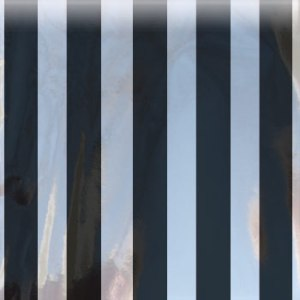 black striped mylar bag magnum
