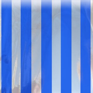 blue striped bag mylar magnum