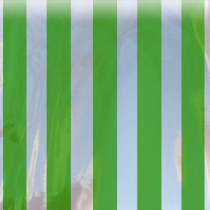 green striped mylar bag magnum