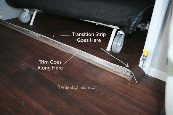 Image Result For How To Install Laminate Flooring In A Rv With Slide Outs