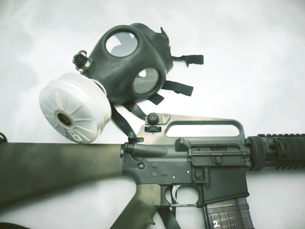 ebola mask rifle