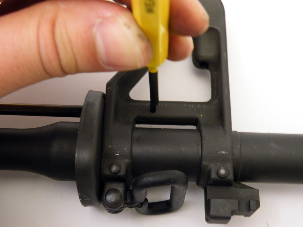 AR15 install gas tube (7)