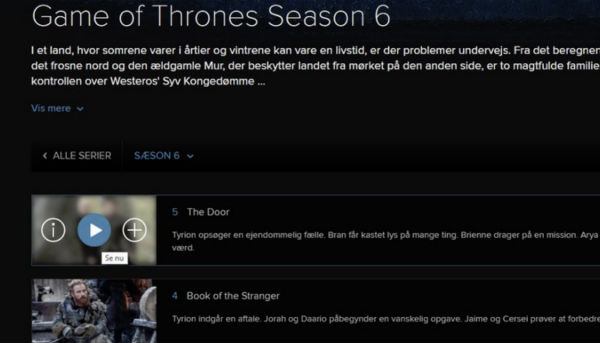 Game Of Thrones Season 6, Game Of Thrones