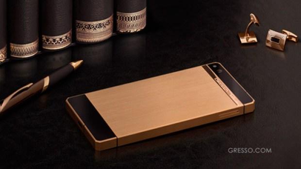 gresso regal gold phone