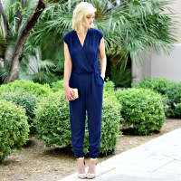 My go-to navy jumpsuit
