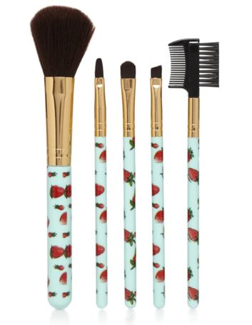 strawberry makeup brushes f21