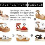 FAVE FLATFORM SANDALS