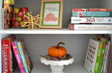 Fall Decorating with Kids and a Dog