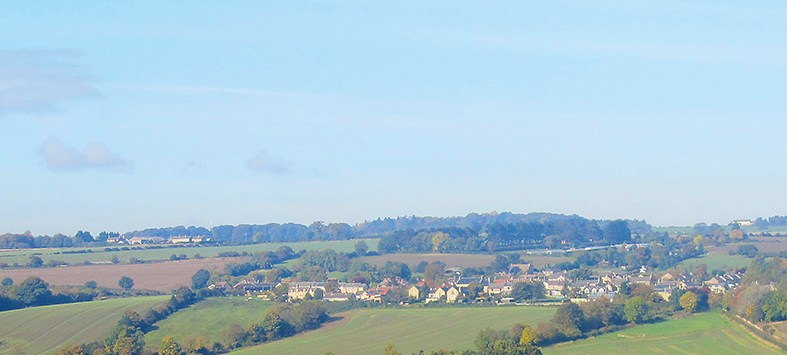 view of ovington