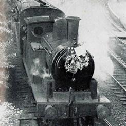 wannielast train leaves Morpeth