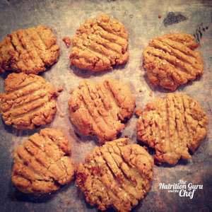 Macadamia and pistachio biscuits dairy free gluten free