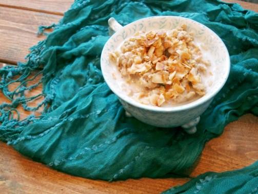 Chai Coconut Zucchini Oatmeal - Oatmeal Artist