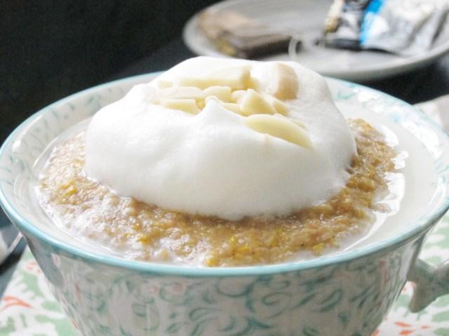 London Fog Oatmeal #oatmealartist