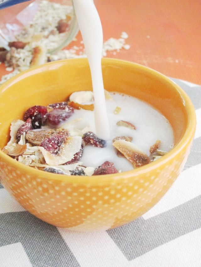 Fig and Toasted Hazelnut Muesli