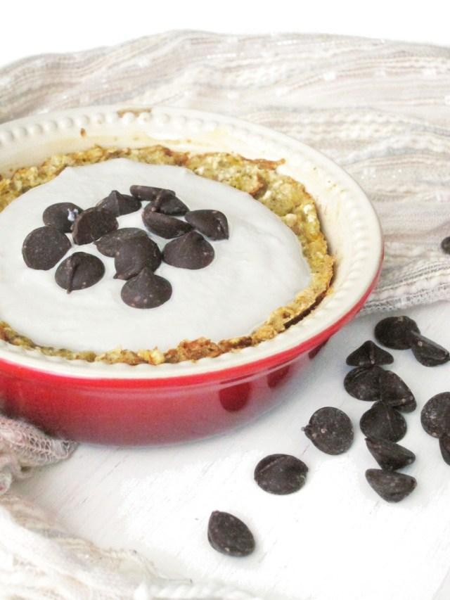 Cannoli Baked Oatmeal with Vegan Cashew-Yogurt Cream #oatmealartist