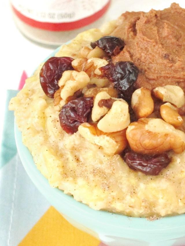 Cardamom Vanilla Zuchinni Oatmeal #oatmealartist