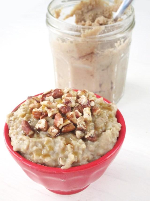 Maple Chesnut Oatmeal by the #OatmealArist #vegan