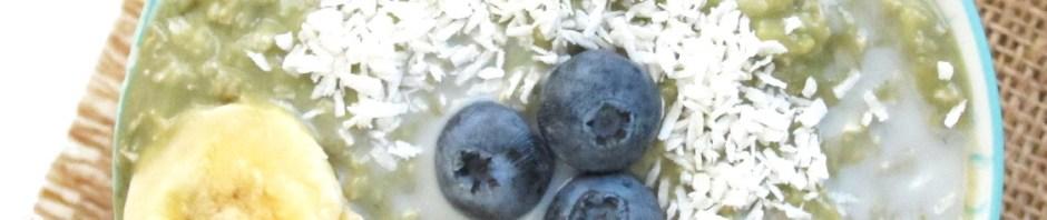 Matcha Yogurt Overnight Zoats #Vegan #OatmealArtist #Oatmeal