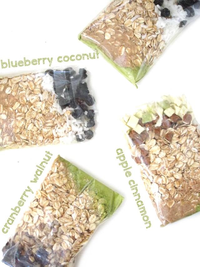 Matcha Marketplace Oatmeal - Variety