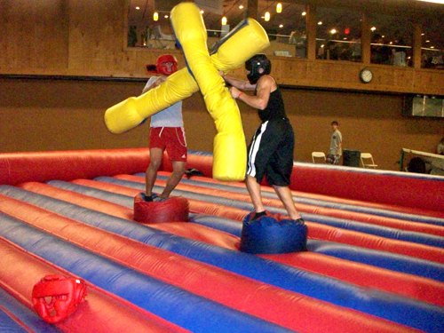 Photo courtesy Project GraduationModern-day 'jousting' is one of the fun competitions at Project Graduation.