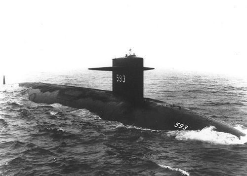 Photo courtesy of U.S. Navy Thresher