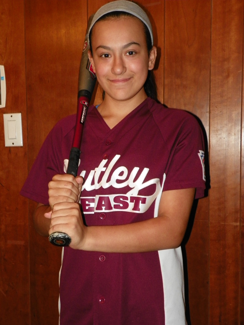 Photo by Jim Hague Natalia Buscanan of Nutley East Little League was the lone girl to compete in the New Jersey Little League state championships in Wallington last weekend