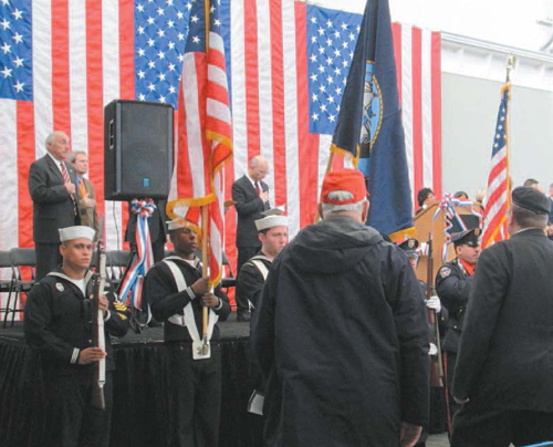 Hudson County dedicated the USS Juneau Memorial Center in South Kearny in November on the 70th anniversary of the Juneau's sinking.